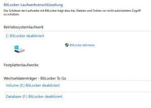 DSGVO Tipp Bitlocker Recovery ID sichern