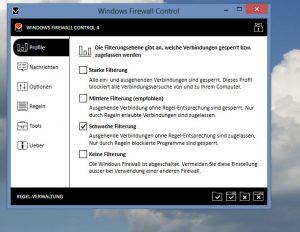 Firewall Control