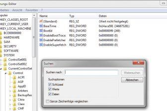 Search Registry Bild