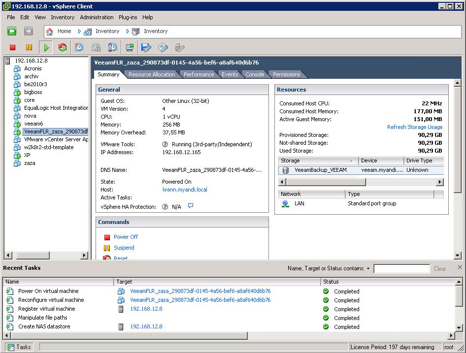 Im Test: Veeam Backup & Replication 6 » nt4admins