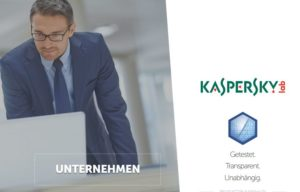 Kaspersky Website Screenshot