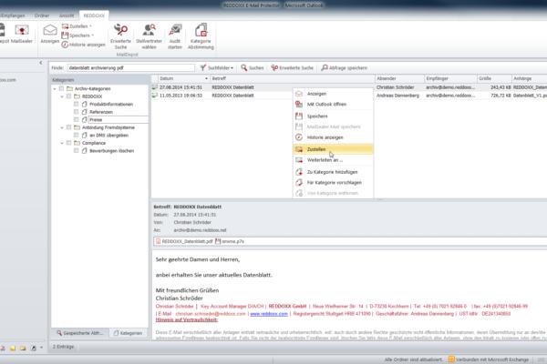 Outlook Plugin MailDepot